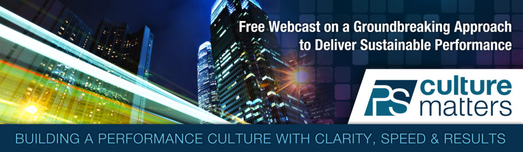 Encore Event of Building a Performance Culture with Clarity, Speed and Results
